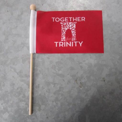 Handheld flags custom print