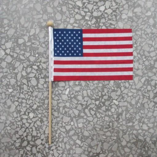 Hand Flag Printing USA