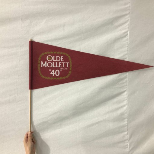 Felt-Pennant-Hand-Flag-with-Wooden-Dowell
