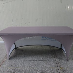 6 foot stretch table cover