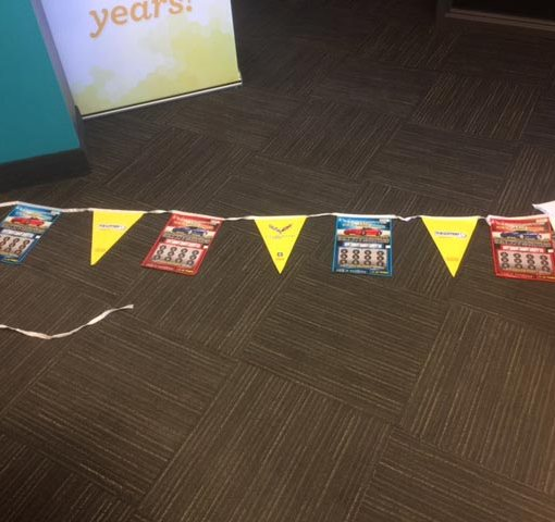 PVC Outdoor Bunting Flags