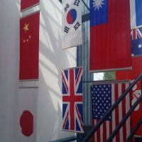 Hanging Country Flag Printing