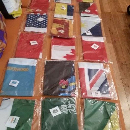 Flag printing Vancouver shop