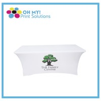 Printed Spandex Table Cover