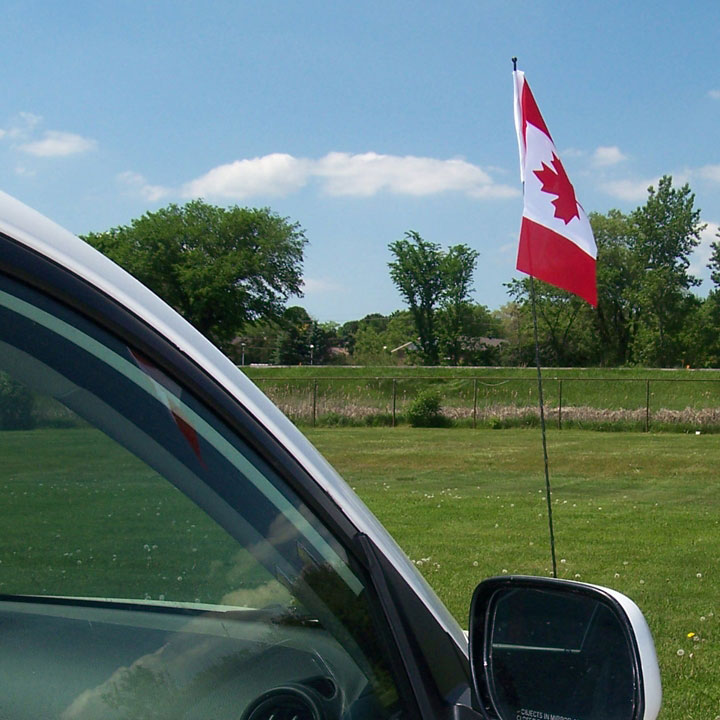 Used Car Antenna Flags