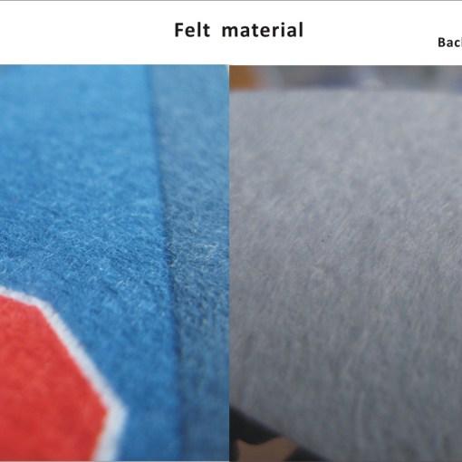 felt material for pennants