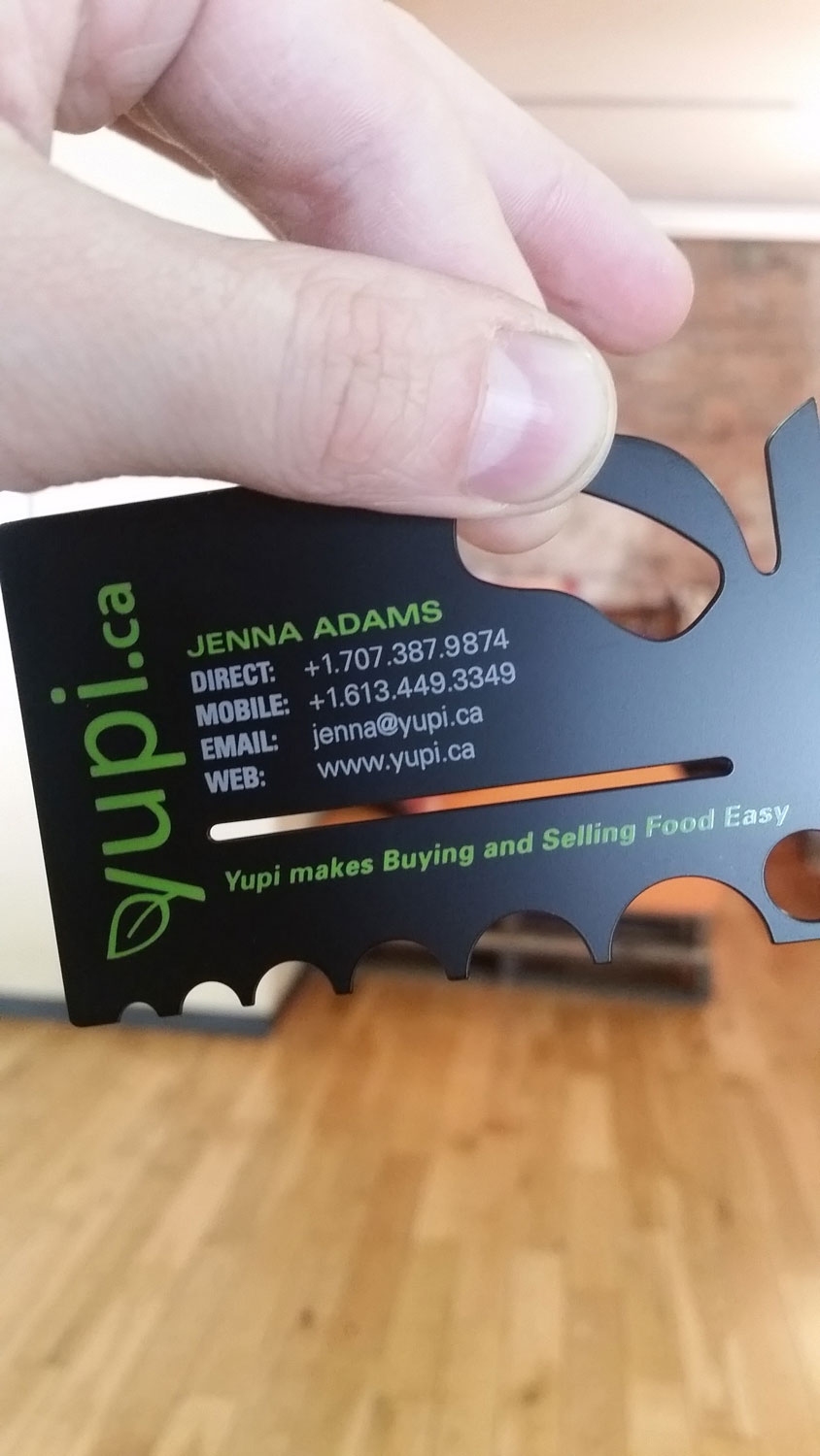 Matte black metal business cards thick metal cards reheart Choice Image