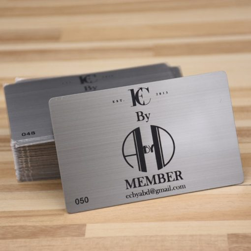 Brushed-Silver-Metal-Cards