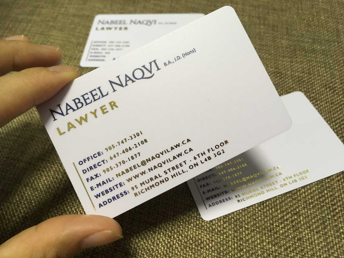 Foil Business Cards Luxury Cards Free Shipping
