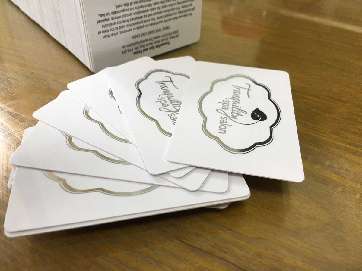 Foil Business Cards - Luxury Cards