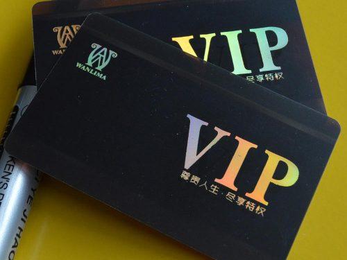 Laser Foil VIP Cards