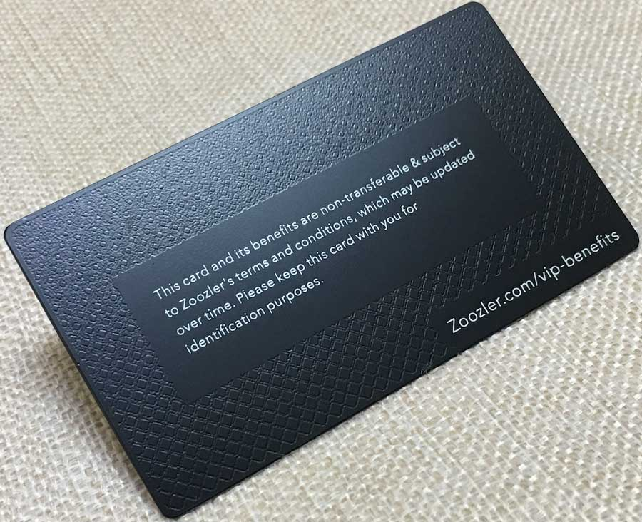 Matte black metal business cards matte black metal card with background texture colourmoves Gallery