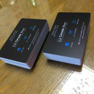 Matte Plastic Business Cards