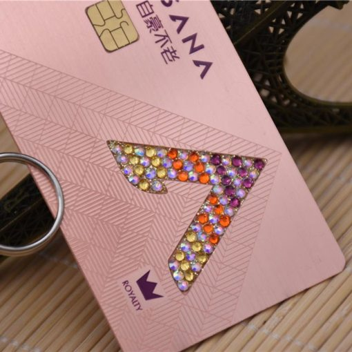 Metal-Business-Cards-with-Jewels