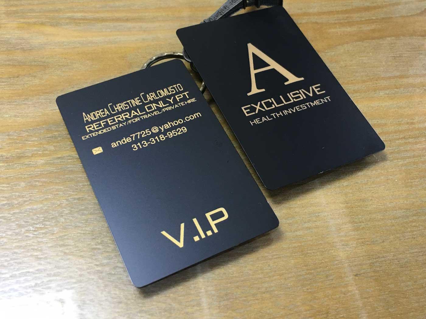 Premium-Luxury-Matte-Black-Metal-Business-Cards - Oh my Print ...