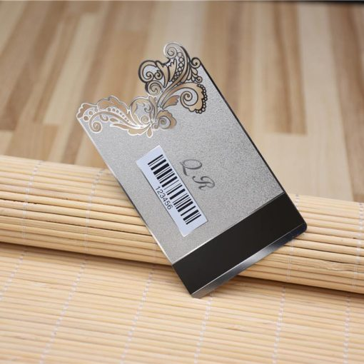 Silver-Metal-Card-Cut-Out