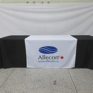 Table Runner with Logo printed