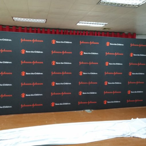 Step and Repeat Wall Texas