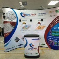 Magnetic Pop up Display with Podium