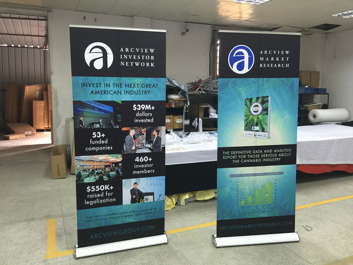 Luxury Banner Stand Free Shipping Worldwide