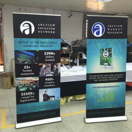luxury style banner stands