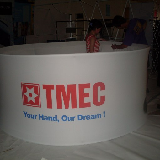 Round Hanging Display Banners