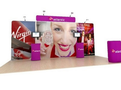 Waveline Tension Fabric Display