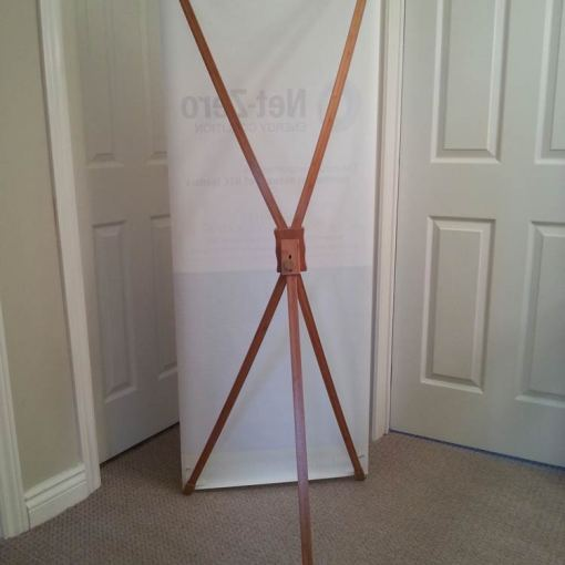Bamboo X Frame Banner Stands