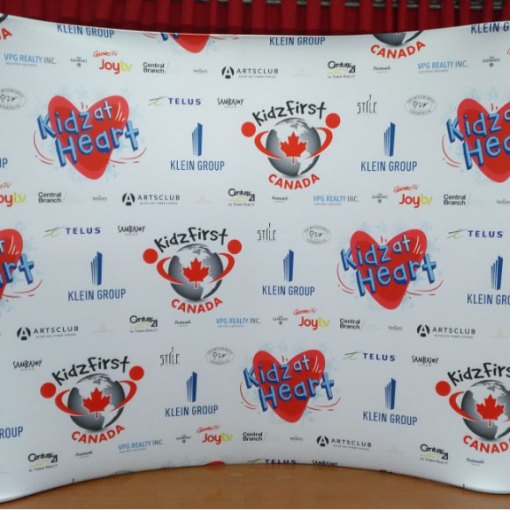 Step and Repeat Customized Background