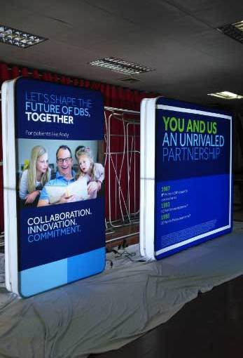 Portable LED Booth Display