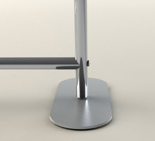 Option of Display Stand Feet for Elegance Display