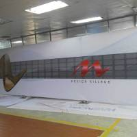 Las Vegas Exhibition Printing 40 feet