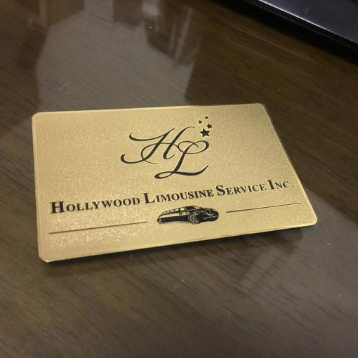 Frosted-Gold-Metal-Business-Cards