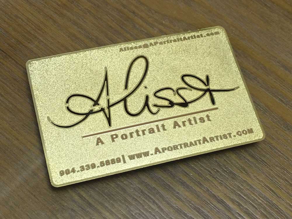 Gold-Metal-Frosted-Business-Card - Oh my Print Solutions