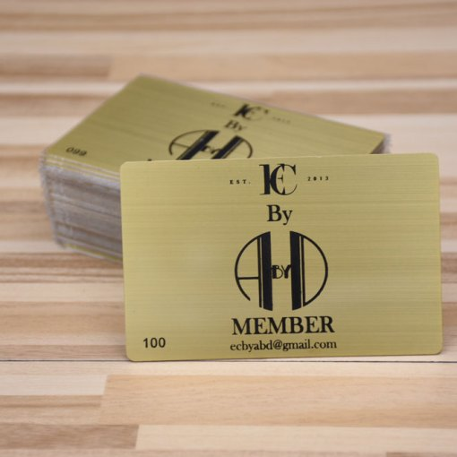 Gold-Metal-Membership-Card