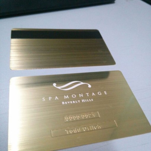 Gold-metal-card-brushed-and-etched