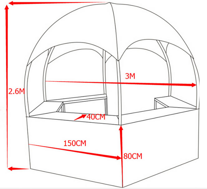 Hexagon-Booth-Tent