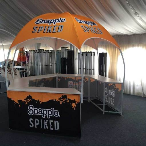 Ontario Promotional Booth Tent printing