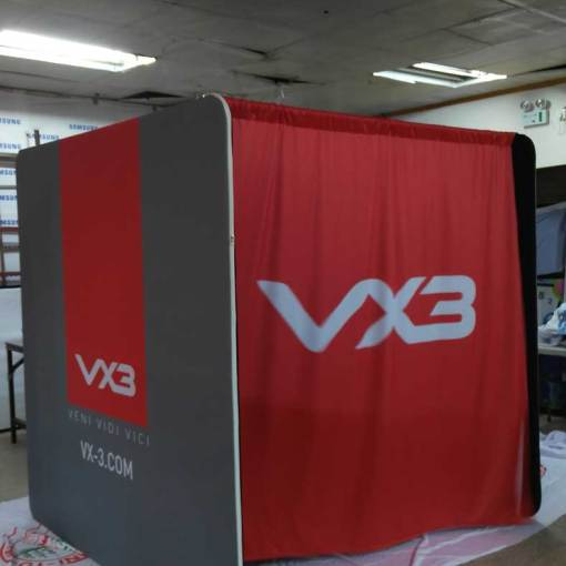 custom printed portable dressing room