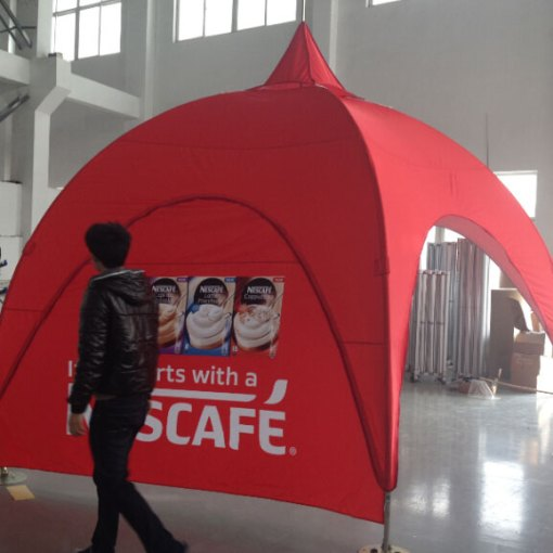 10-foot-Arch-Dome-Event-Tent-custom-printed