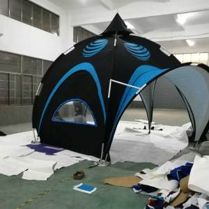 Arch tent printing for Events