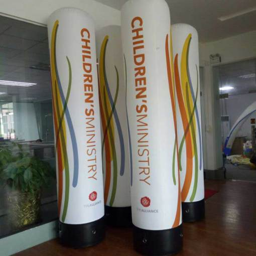 Inflatable-Banner-Stand-tube-shaped