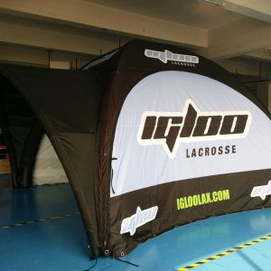 Inflatable Tent Shipped to New York