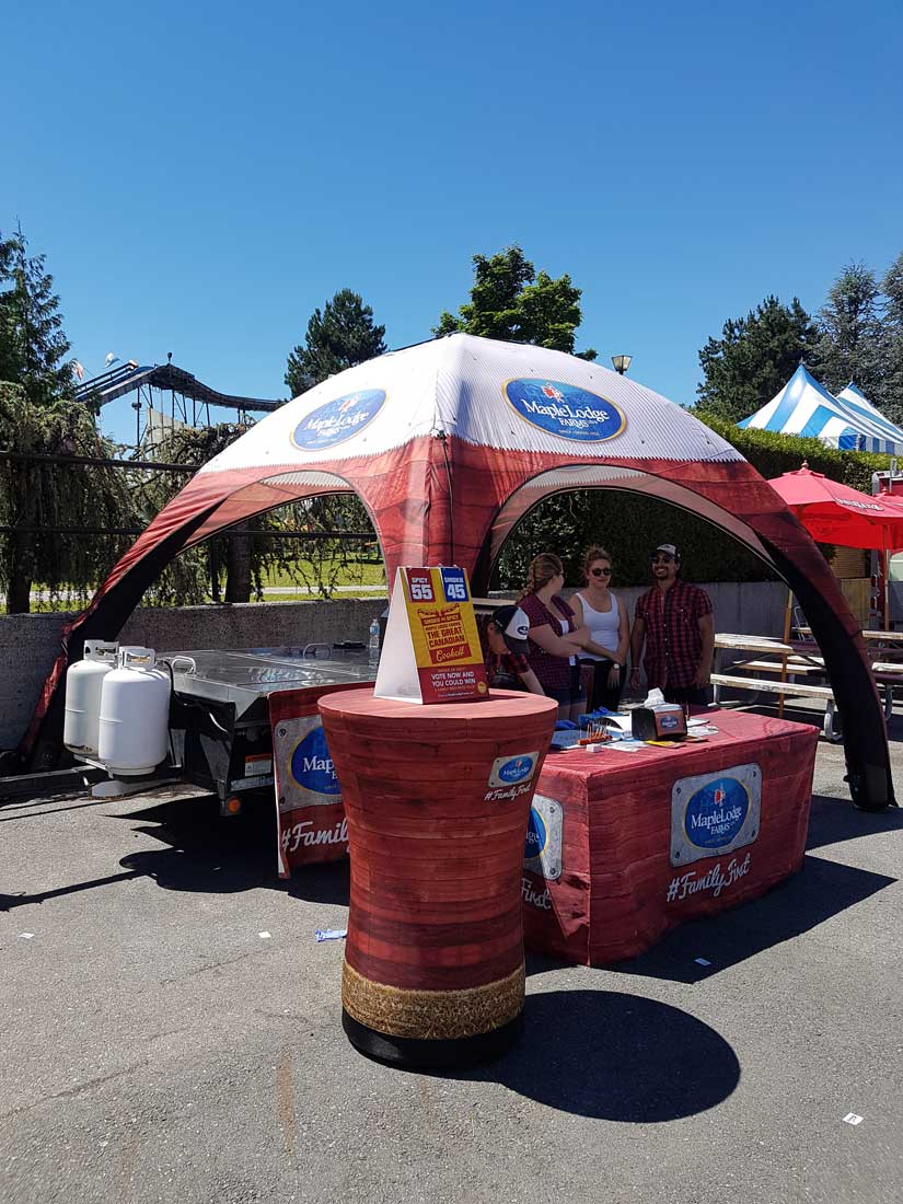 Inflatable Tents Vancouver & Inflatable Tents - Air Tents that Blow up - Easy quick Set-up ...