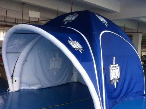Inflatable Tent shipped to Saskatchewan
