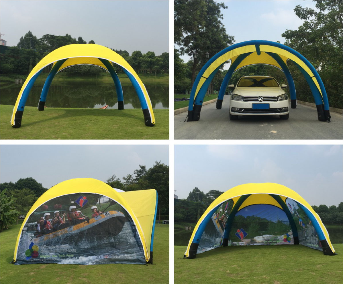 Printed Event Tents  sc 1 st  Oh my Print Solutions & Inflatable Tents - Air Tents that Blow up - Easy quick Set-up ...