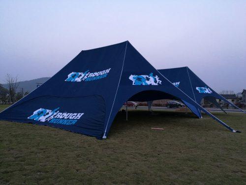 Double Peak Star Tent