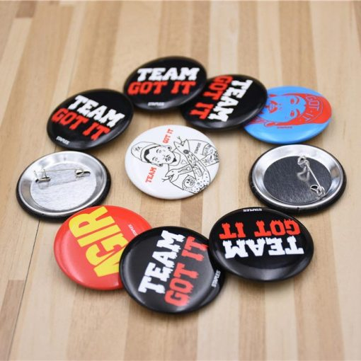 Pinback-Buttons