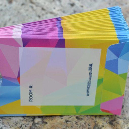 Printed-card-holders