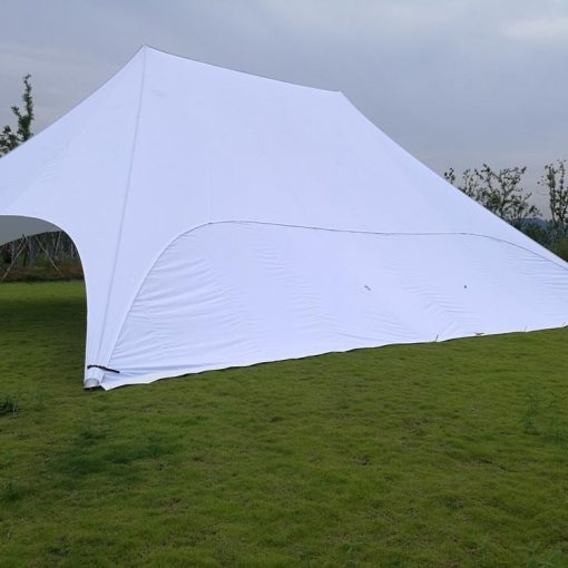 White-Double-Star-Tent